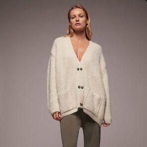 Zara Chunky Knit Cardigan
